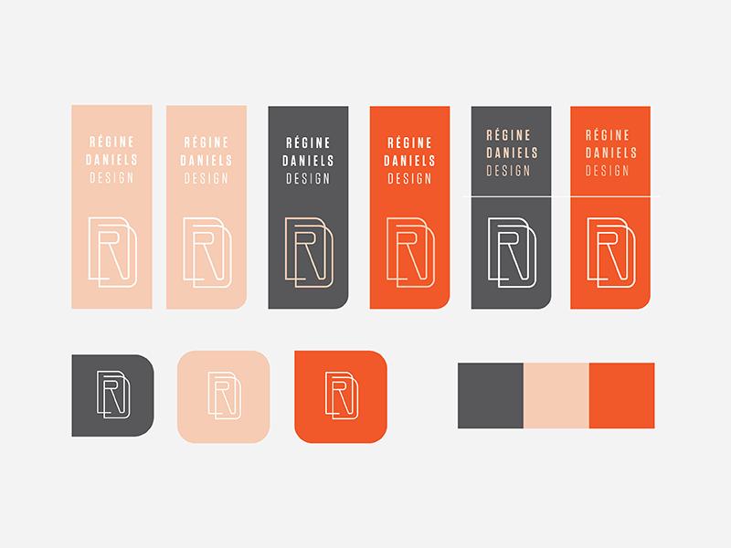 Personal Brand — Monogram Concept Cont'd monogram logo design logo vector illustrator graphic design design branding brand