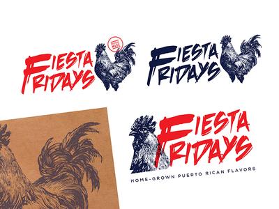 15Four Fiesta Fridays poster design poster illustrator layout design layout type typography mark illustration graphic design design