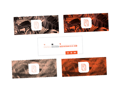 Personal Brand — Business Cards graphic design graphic design