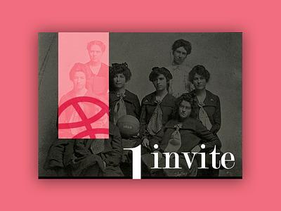 1 Dribbble Invite! print layout typography graphic-design design invite dribbble-invite dribbble