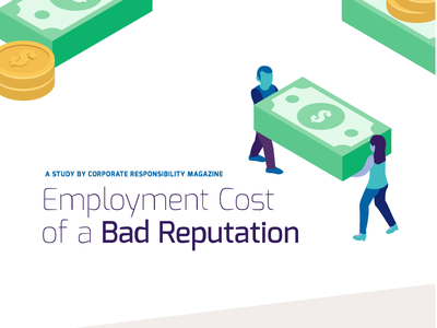 The Cost of a Bad Reputation Infographic pt. I graphic design typography illustration graphic infographic design