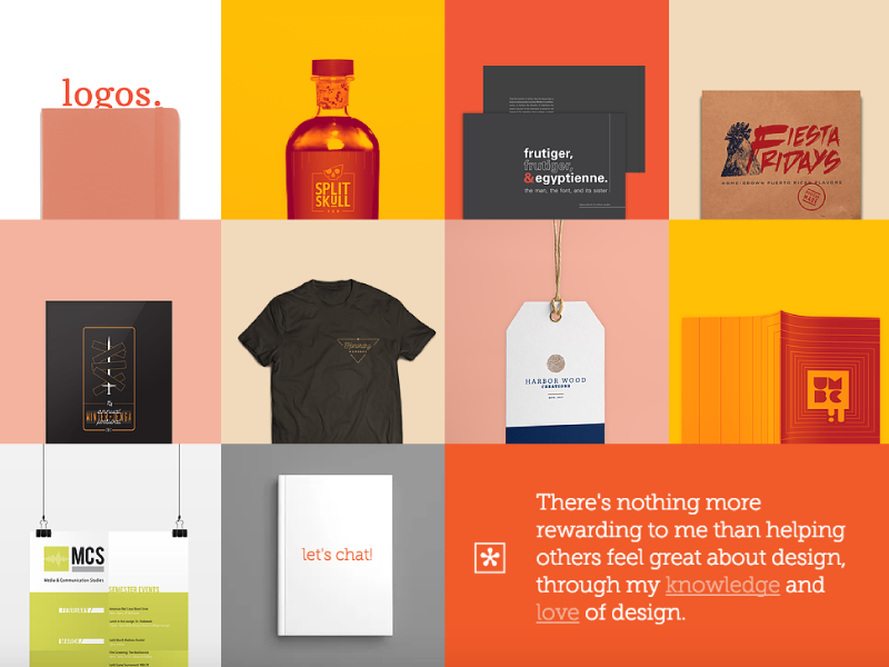 Personal Branding – Portfolio print design graphic design typography layout ux ui design