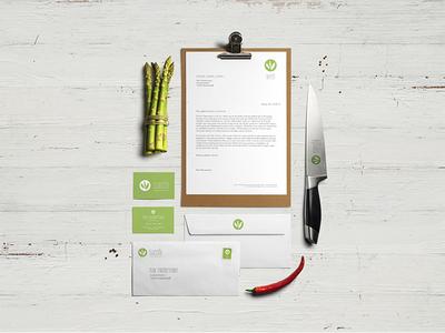 SunShi - The green Fast-Food Company logo takeaway packaging menu stationery branding food fast food green