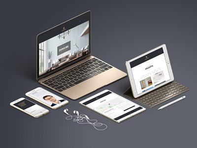 Bauer & Söhne | Website advertisement portrait copywriting photography social media branding responsive website webdesign corporate design