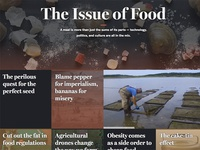 The Issue of Food