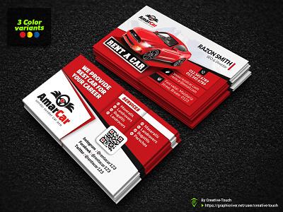 Rent a Car Business Card car template black business card car exlusive businesscard red business card rent business card taxi business card car business card