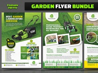 Garden Flyer Template Bundle