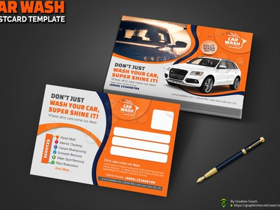 Car Detailing Flyer Template from cdn.dribbble.com