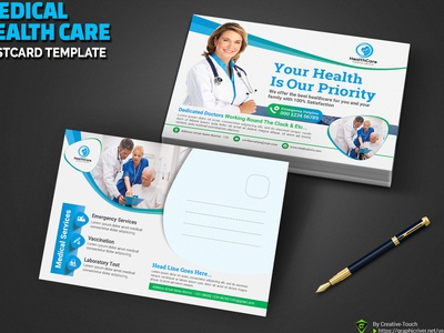 Medical Health Care Postcard
