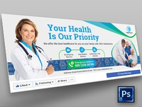 Medical Health Care Facebook Cover