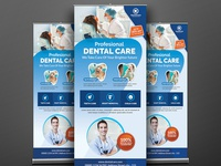 Dental Roll-Up Banner