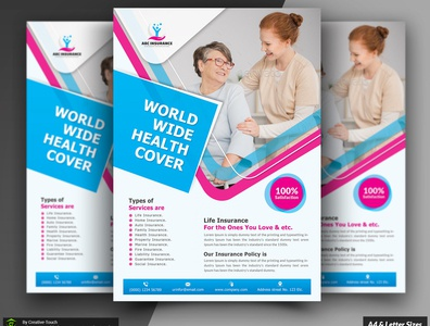 Health Care Insurance Flyer