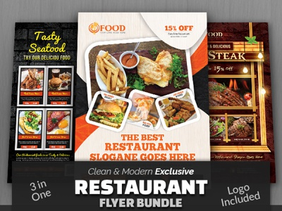 Restaurant Flyer Bundle lunch flyer free flyer food poster fast food flyer fast food cake cafe burger flyer burger breakfast flyer bread brakfast bbq flyer bakery flyer ads