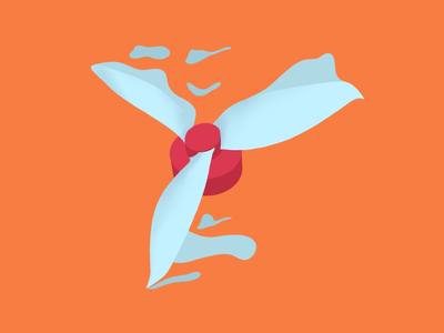 UAV Logo raster procreate slice propeller prop uav