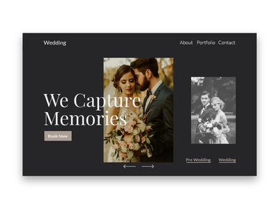 Wedding Hero Design