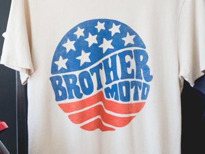 Brother Moto Kelso Tee 70s t-shirt tee motorcycle america