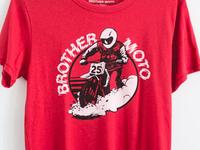 Brother Moto Flat-Trackin' Tee