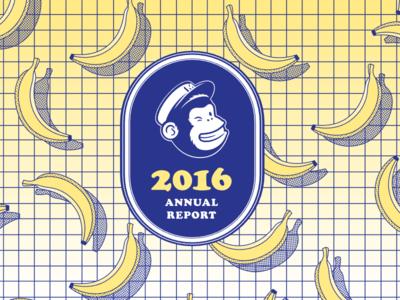 MailChimp Annual Report 2016 pastels halftone duotone pop annual mailchimp