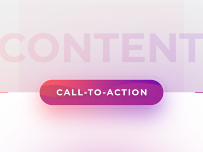 Call to Action web design gradient button design call-to-action cta