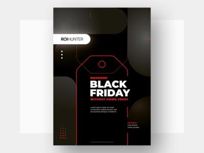 Black Friday E-book Cover cover print e-book friday black black friday