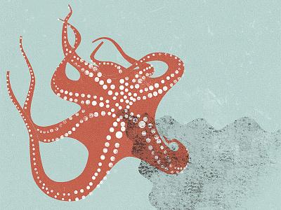 · octopus ink · tentacles animal instinct under the sea illustration sea nature animal octopus