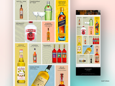 IBBLS — Website Design category patterns classic color design ui web branding
