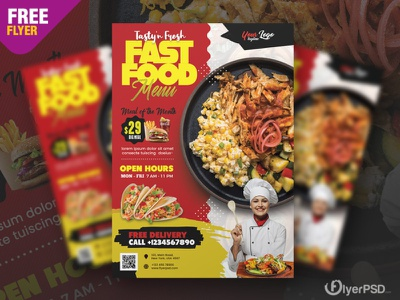 Restaurant Promotion Flyer Design PSD fast food flyer freebie restaurant menu design fast food menu restaurant menu restaurant flyer fast food poster template photoshop free flyer psd flyer psd free free psd flyer psd flyer