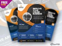 Corporate Business Promotion Flyer Design PSD design corporate flyer photoshop free flyer psd flyer psd free free psd flyer psd flyer