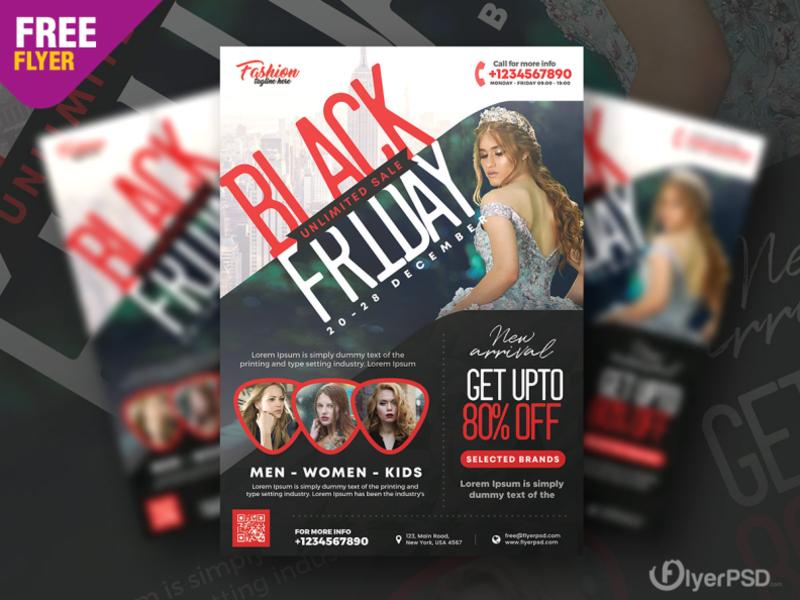 Black Friday Sale Flyer Psd By Flyer Psd On Dribbble