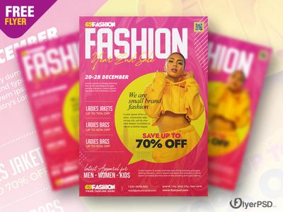 Sale Promotion Flyer PSD