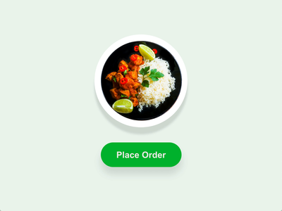 Food order confirmation experience