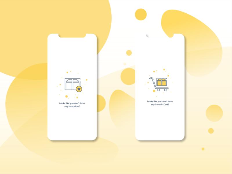 '0' data states for mobile experience ux  ui mobile ui mobile design zero state