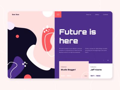 Bau Bau - Landing page concept