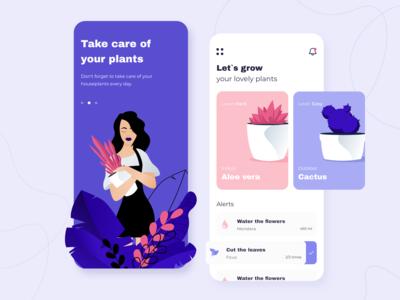 Plants - Mobile app concept