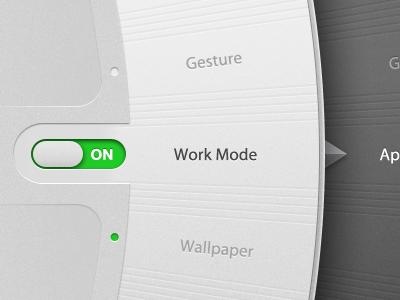 App interface ui app interface dials