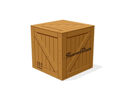 Special Delivery 3d after effects crate bears animation illustration bear
