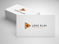 love play logo template