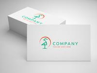 stork logo template