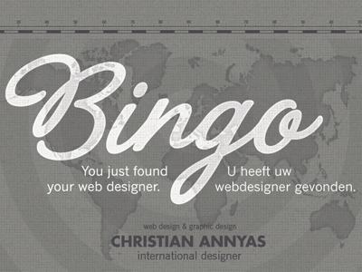 Bingo - new Annyas.com design