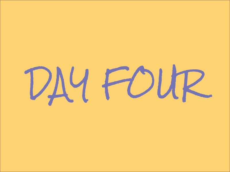 Day 4 typography experiment