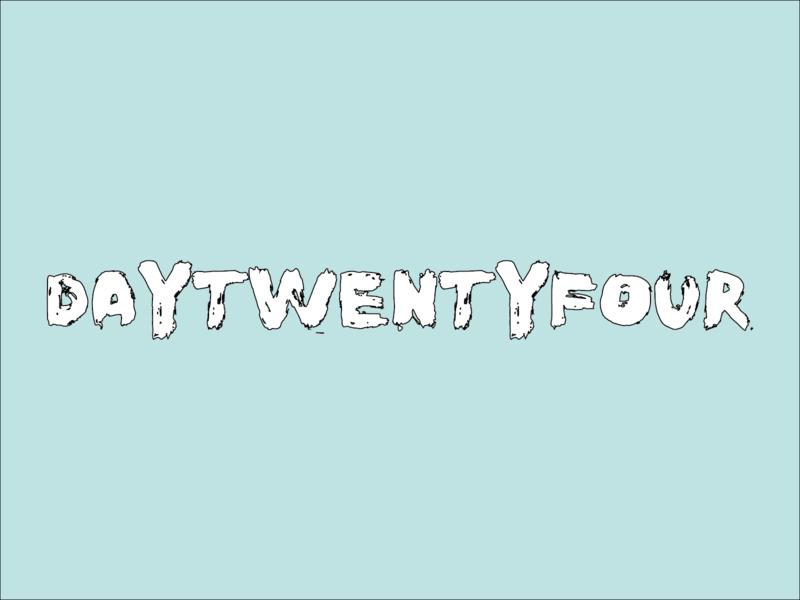Day 24 typeandcolorchallenge vector typography experiment