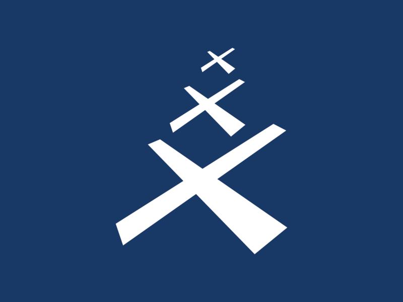 Day 24 - X x logo letter type design vector typeandcolorchallenge typography experiment