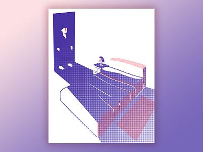 Good Night? good night press magazine illustration editorial article