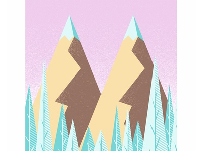 #36daysoftype - M is for Mountains