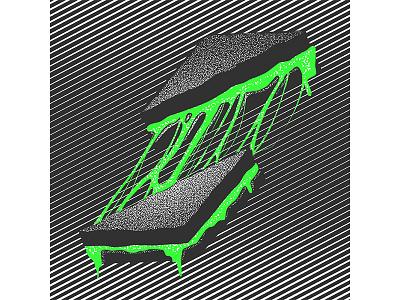 #36daysoftype - S is for (mutant) Sandwich digital illustration type illustration