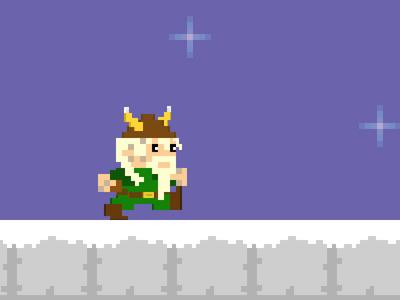 Sven v2 pixel art viking ios game ipad iphone android app
