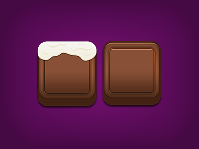 Chocolate Game Elements mobile android ipad ios food game chocolate