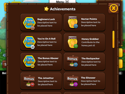 Game Achievements android iphone ios game icons achievements