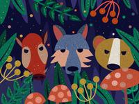 Copy - Forest Illustration