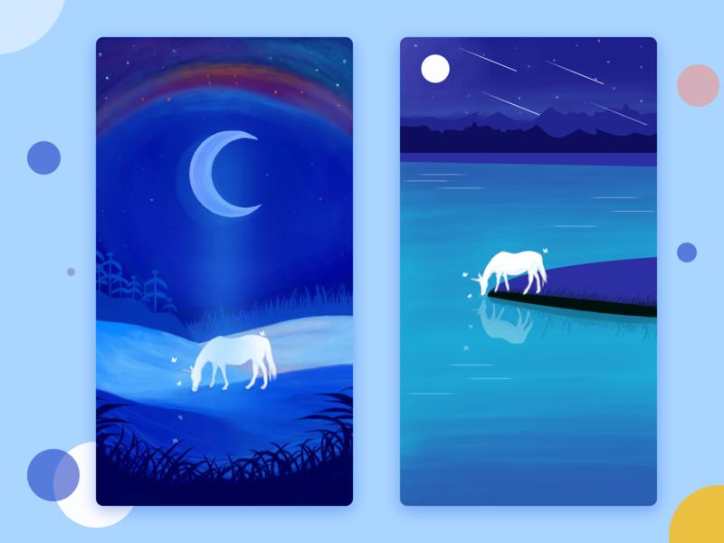 Take Dream as Horse illustration